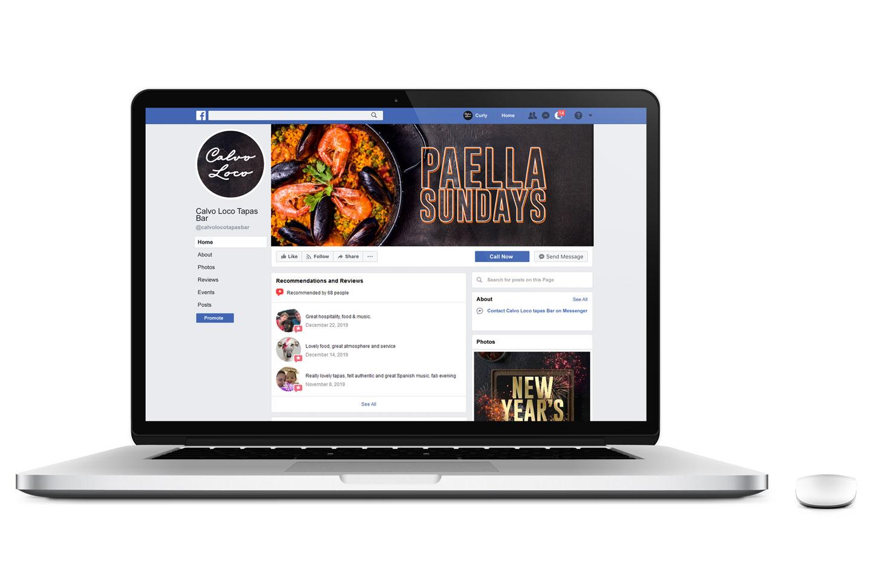 Evolve Promotion - Calvo Loco Facebook Page