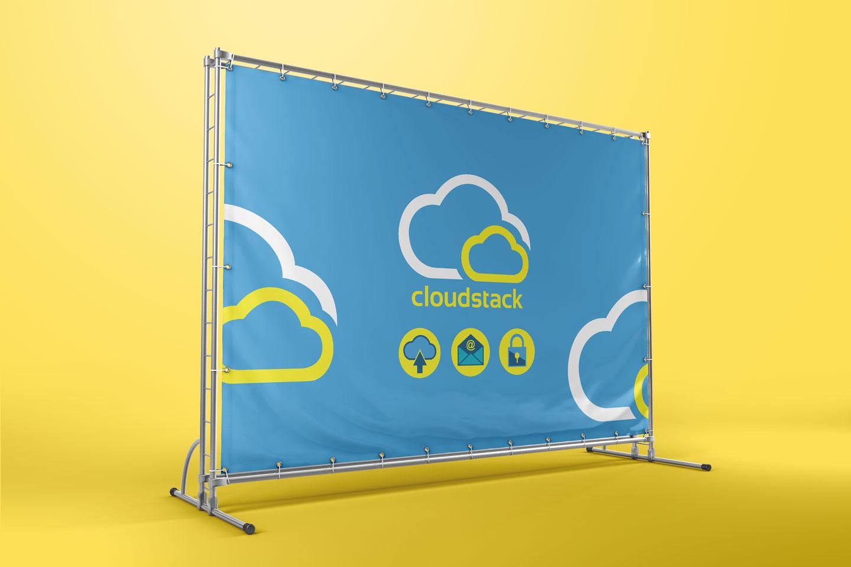Evolve Promotion - Cloudstack Banner Stand