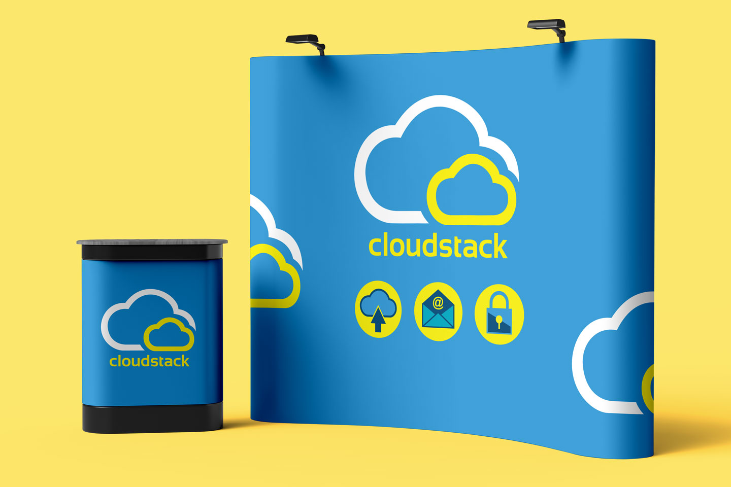 Evolve Promotion - Cloudstack Display Stand