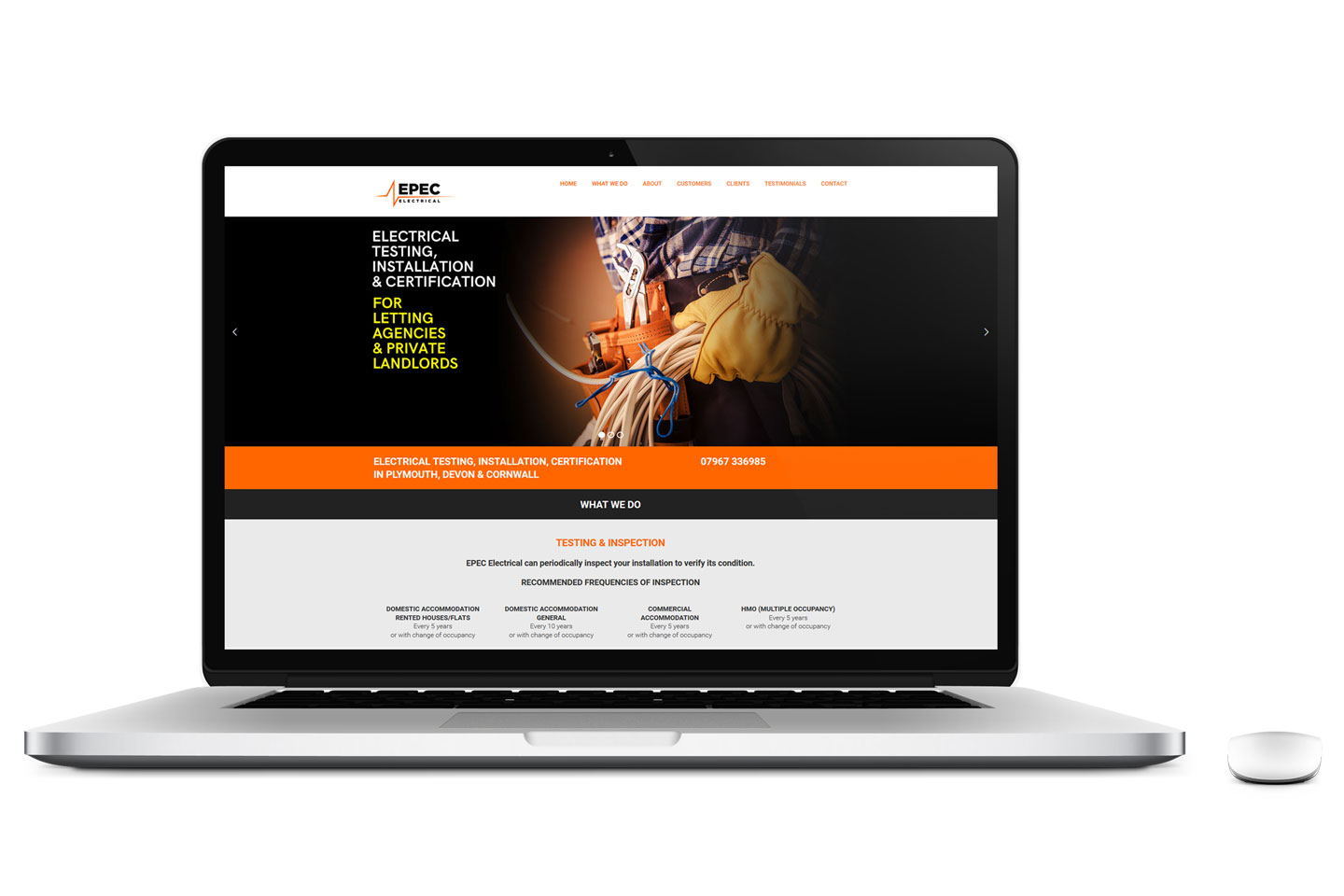 Evolve Promotion - EPEC Electrical Website