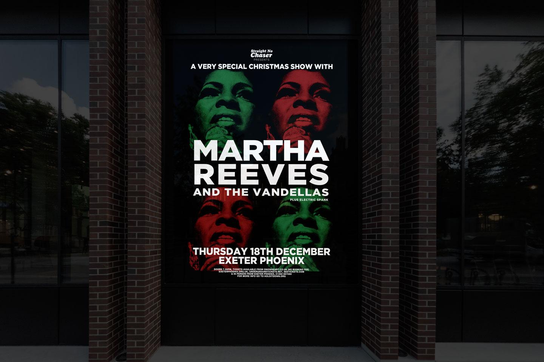 Evolve-Promotion - Martha Reeves Exeter Phoenix Outdoor Advertisement