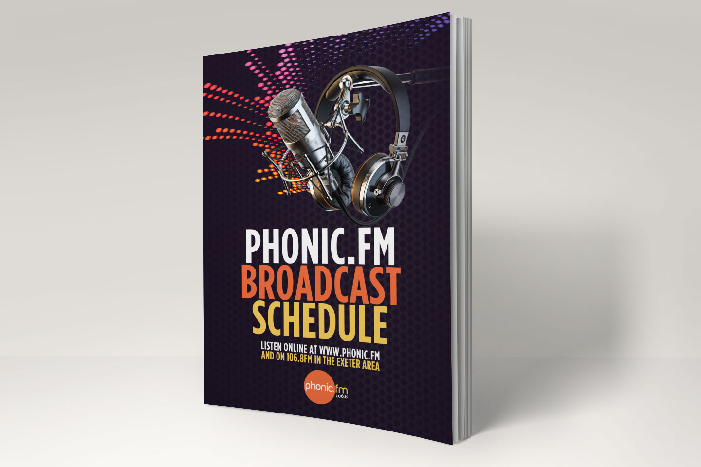Evolve Promotion - Phonic FM Schedule