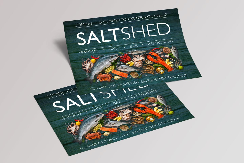 Evolve Promotion - The Salt Shed Leaflet